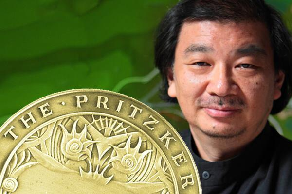 Shigeru Ban wins the 2014 Pritzker Prize