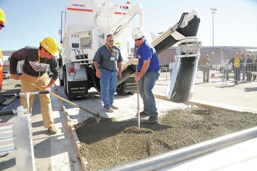 In its fourth year, Pervious Concrete Live! 2013 was a showcase for pervious concrete innovation at World of Concrete.