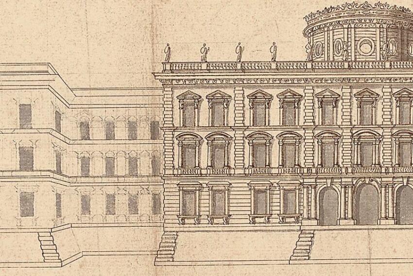 Object: Study for the Louvre, Gian Lorenzo Bernini