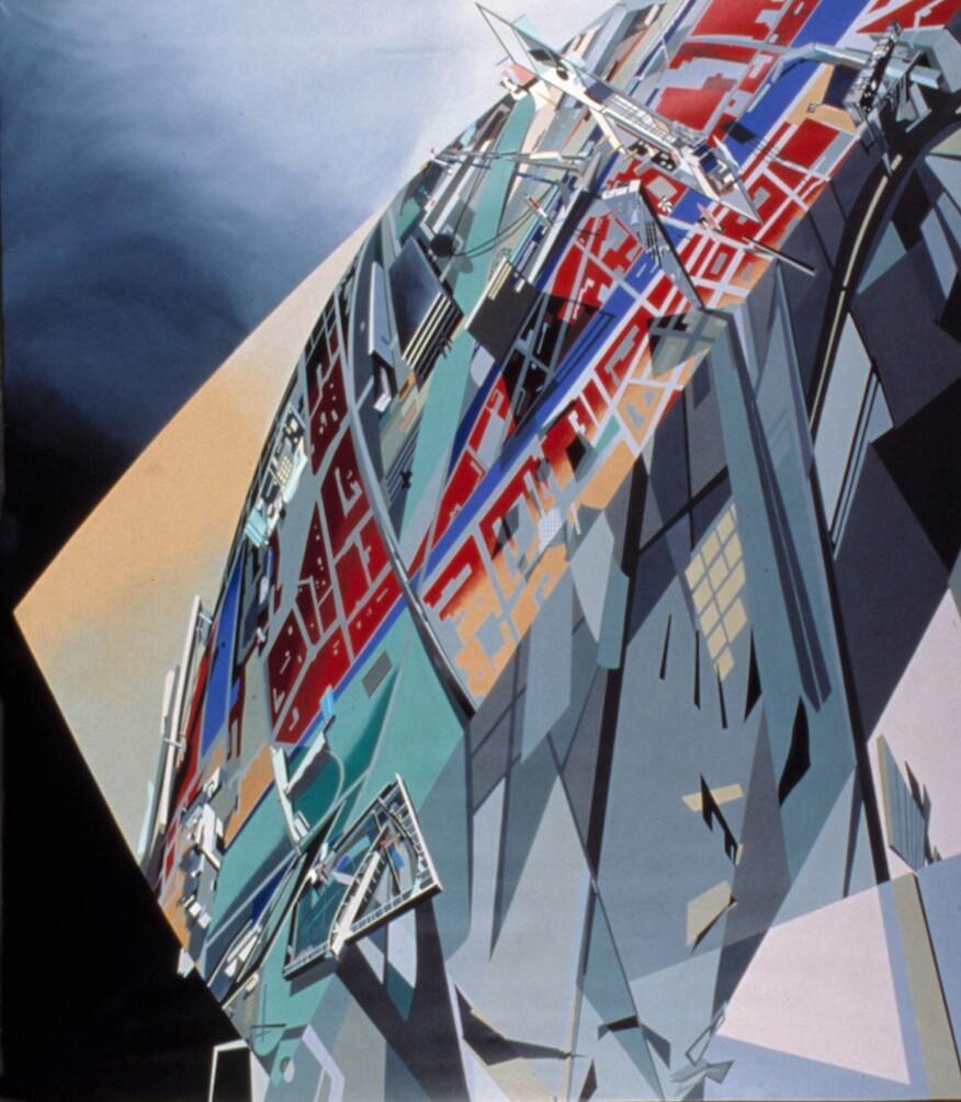 "Hadid's ""The World (89 Degrees)"" (1983)"