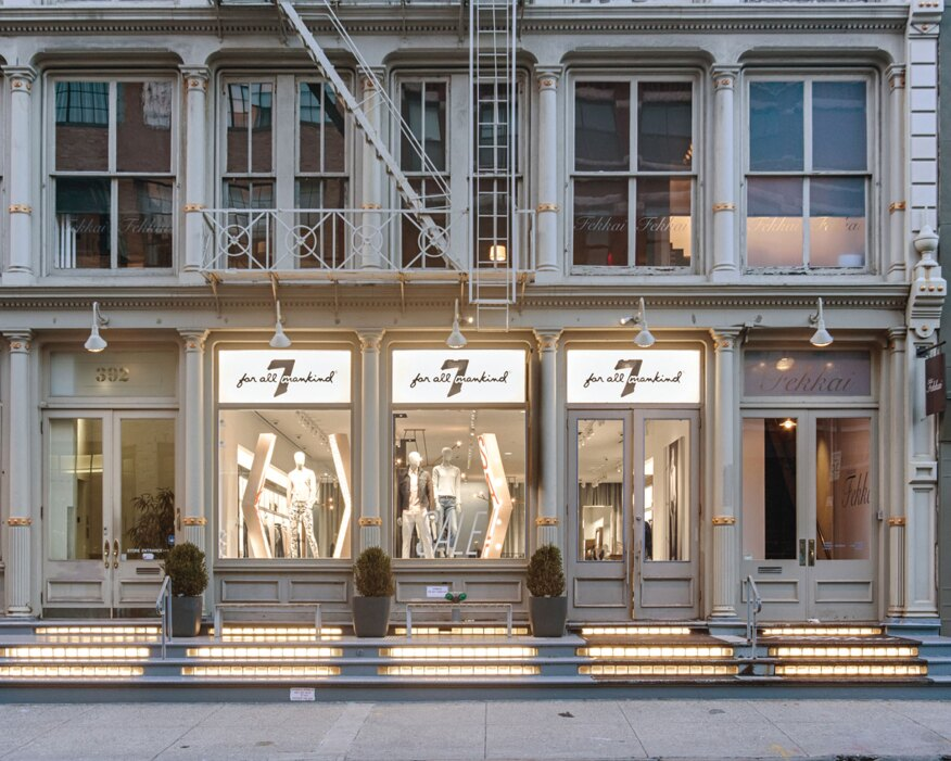 After Focus Lighting completed a new lighting scheme for the 7 For All Mankind store in SoHo, New York, a sensor-based tracking system recorded a significant uptick in store traffic and retail sales.