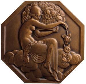 Pierre Turin's Art Deco Souvenir Medallion