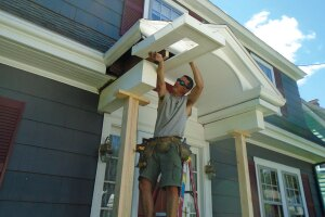 New Columns for an Old Porch | JLC Online | Porches, Carpentry ...