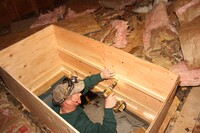 A Site-Built Insulated Attic Hatch