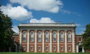 Mary Cochran Library was built in 1929 by Ralph Adams Cram.