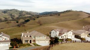 File photograph: The Oakhurst subdivision abuts open space  in Clayton, Calif.  (Contra Costa Times)