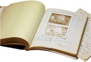 Lutron chairman and founder Joel Spira has donated several materials from the company's artifacts to the Smithsonian's National Museum of American History. His inventor notebook (above) holds more than 100 pages of handwritten notes that shed light on his invention of the solid-state electronic dimmer.