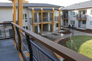 The new 40-unit NAYA Generations development provides foster families and seniors with affordable housing in Portland, Ore.