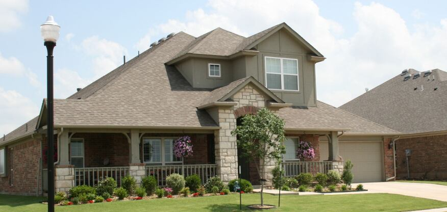 Houses in the company's Valencia development near Oklahoma City are priced from $115,000 to $308,000.