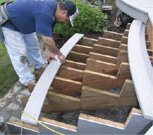 Put A Little Arc In Your Stairs Professional Deck