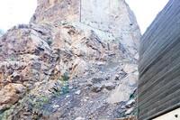 Horse Mesa Dam Rock Debris Talus Stabilization
