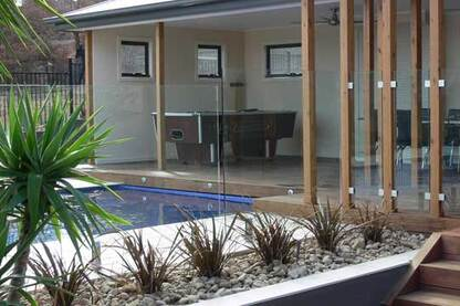Pool Fencing by Dolphin