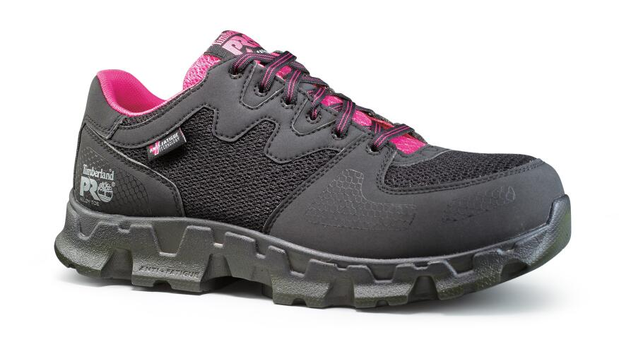 The Women S Alloy Toe Esd Powertrain 92669 From Timberland Features A Synthetic Upper And Athletic Mesh Cement Construction For Flexibility Reduced