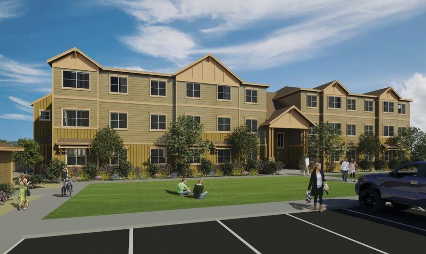 Prairie Vista Apartments in Williston, N.D. is commanding high rents thanks to the demand spurred by local energy markets.