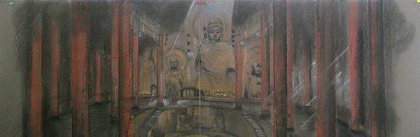 A Ferretti drawing from Kundun, a 1997 Scorsese film about the Dalai Lama.