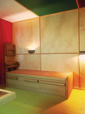 "EXHIBIT    Le Corbusier built only one structure for himself, the Cabanon, a seaside hut on the Côte d'Azur that he called ""my castle in the Riviera."" The Royal Institute of British Architects presents a 1:1 reconstruction of the 1952 building's interior as an offshoot of a massive Corbu retrospective at the Barbican Art Gallery in London. Through April 28.  architecture.com"