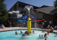 Multi Play V - Multi Play structures are an excellent centerpiece for any splash pad!