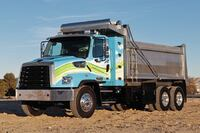 Natural gas vocational truck
