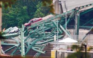 Thirteen people died when the I-35W bridge in Minneapolis collapsed during rush hour in August 2007.