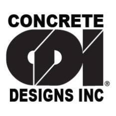 Concrete Designs Logo