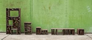 Continuous Function jute-epoxy furniture by Yet/Matilde
