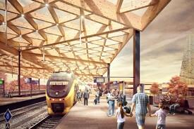Ede Wageningen Train Station