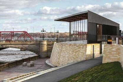 Principal Riverwalk Hub Spot, Des Moines, Iowa.