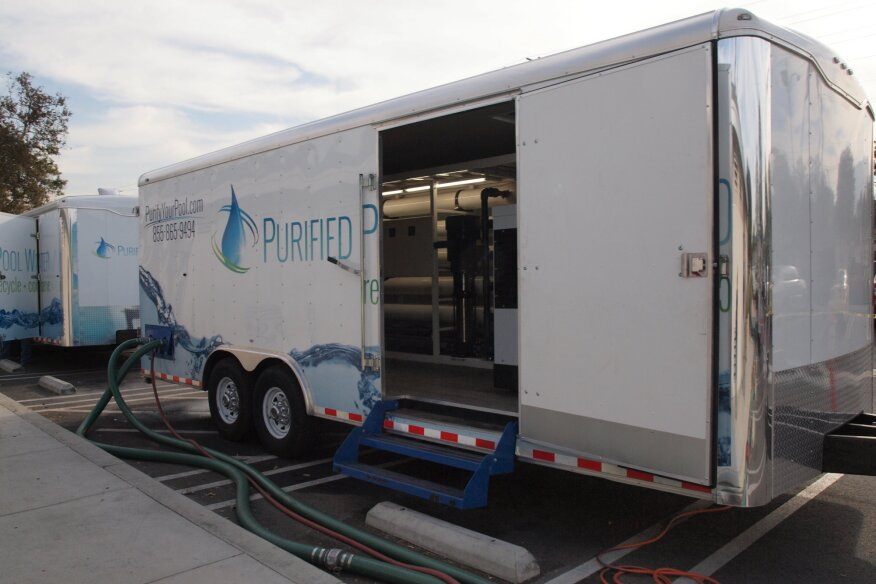 Recycling On The Road Mobile Filtration Systems Aquatics International Magazine Water