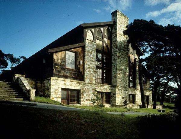 YWCA Asilomar, Merrill Hall, exterior.