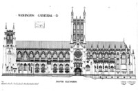 The National Building Museum Gets Washington National Cathedral's Construction and Design Archives