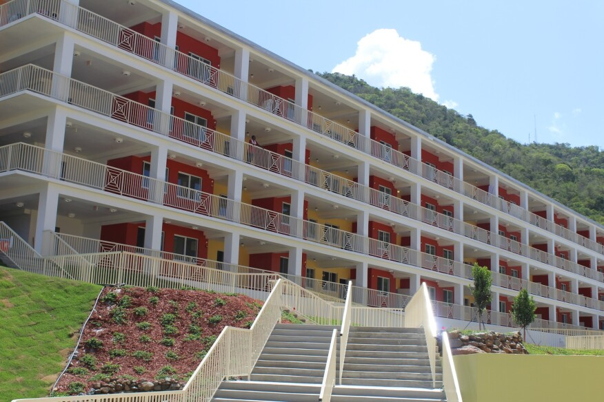 Sugar Estate is providing 80 units of affordable housing for seniors on the east side of the foothills in St. Thomas, U.S. Virgin Islands.