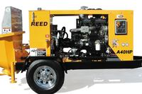 REED Concrete Pumps + A40HP Rockmaster Concrete Pump