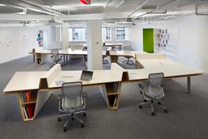 Hanley Wood's new office space, designed by Höweler+Yoon Architecture.