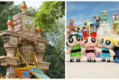 How SpongeBob and the Powerpuff Girls Invaded Waterparks