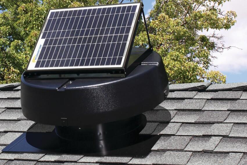 U.S. Sunlight Corp. 9915TR Solar-Powered Attic Fan