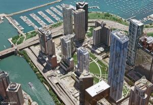 Lakeshore East was recently given an award by AIA Illinois.