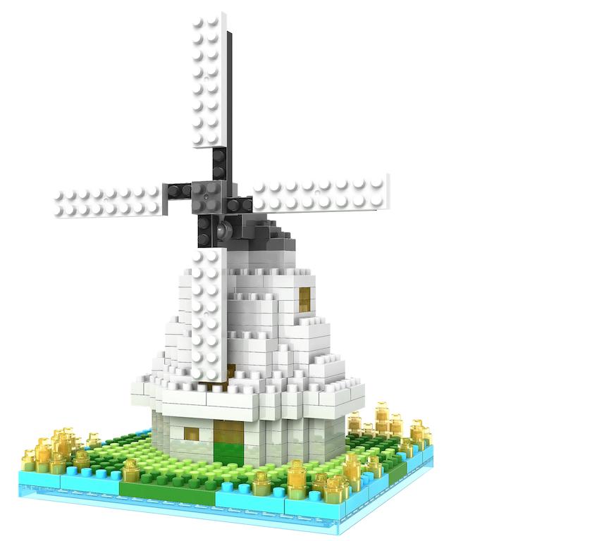 lego dutch windmill