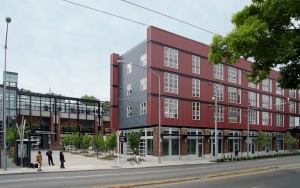 Artspace Mt. Baker Lofts in Seattle is a transit-oriented development: It has no on-site parking and is adjacent to the light-rail station.