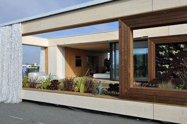 LISI, by Team Austria, was the winning entry in the 2013 U.S. Department of Energy Solar Decathlon.