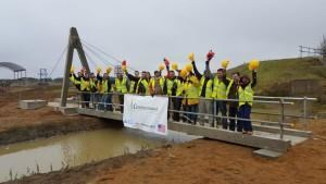CIM Students Build British Bridge