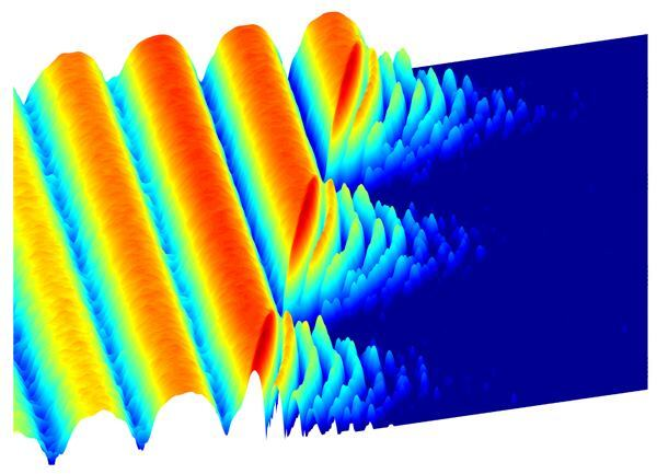 Researchers at Princeton University have developed subatomic crystalline light.