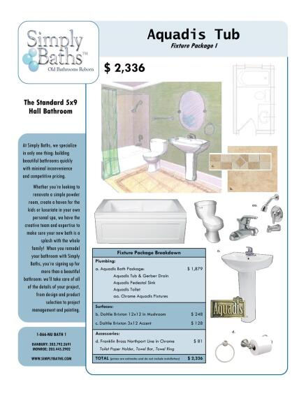 Bath Collections: Bath Packages Meet Need for Cost-Effective Remodels