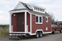 """""""Tiny House"""" Arrives At Carnegie Science Center"""