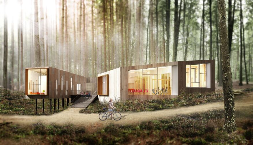 Merge Architects, YMCA Health + Wellness Center