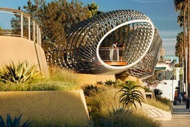 Tongva Park and Ken Genser Square