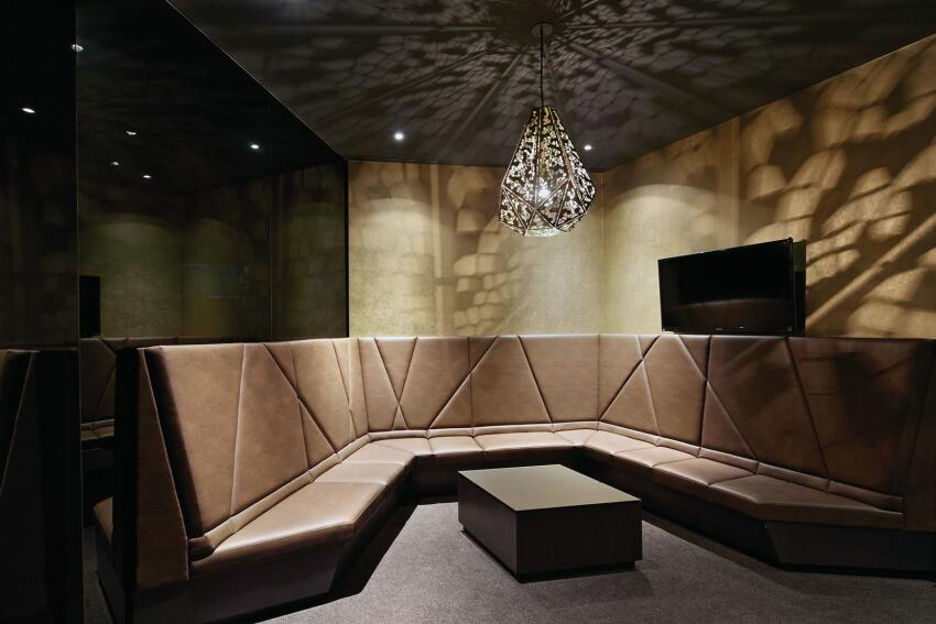 Lounge interior.