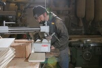 Making Tapered Columns With Lock Miters