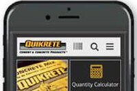 New Mobile APP from QUIKRETE