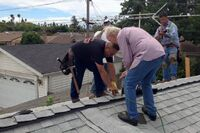 Strangers Repair Man's Roof After Facebook Plea