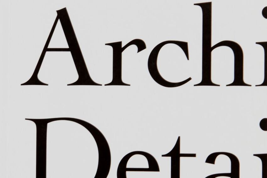 Book: 'The Architectural Detail'